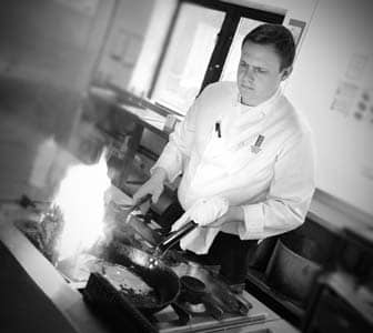 Head Chef Stuart Heeney