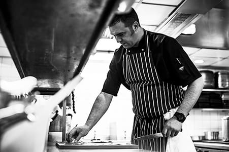Executive Head Chef Paul Devoy